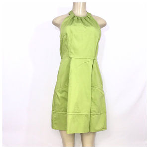 Green Halter Dress Size 6